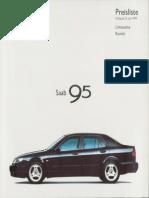 Saab 9-5 Brochure  brochure54_saab-9-5_1999