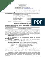 mun. ord. no. 013-2014