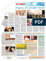 Aman ki Asha page published in The News