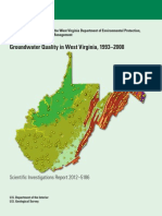 USGS Groundwater Quality in WV 1993–2008