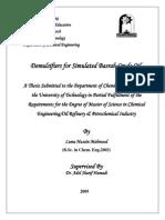 Demulsifiers for Simulated Basrah Crude Oil