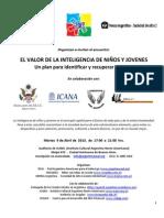 El Valor de La Inteligencia - 09ABR2013