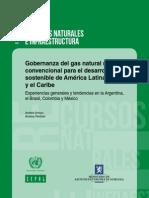 Gobernanza del gas natural