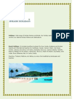 Holiday Tours _ Package in India