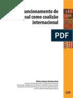 O funcionamento do Mercosul como coalizão internacional