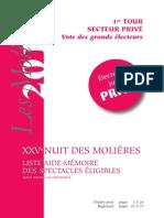 Moliere Privé 2011