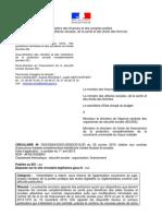 Circulaire du 30 janvier 2015 - Complémentaires Santé Responsables