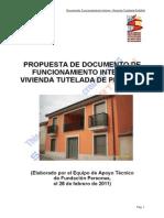 Documento Funcionamiento Interno Vivienda Penafiel