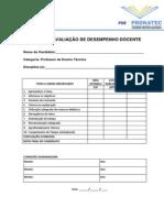 Formulário de Avaliação Didática1