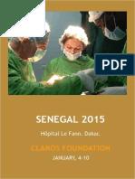 Humanitarian trip Senegal 2015