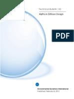 133 Myths in Diffuser Design