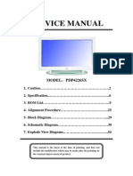 RCA (PDP4226SX) Manual de Servicio LCD