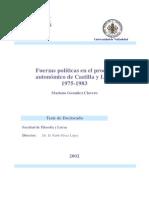 EL PROCESO AUTONÓMICO DE CASTILLA Y LEÓN