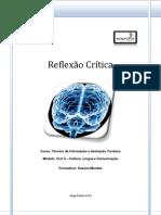 Reflexivo de aprendizagem - CLC 5