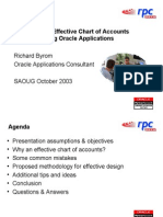 Designing an Effective Chart of Accounts Structure