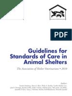 asv shelter standards english 2010