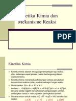 Kinetika Kimia Dan Mekanisme Reaksi