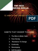 l7 - Habits That Hinder Thinking