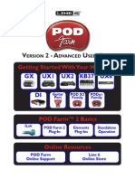POD Farm 2 Advanced User Guide - English ( Rev B )