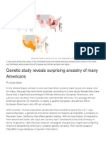 AOTW-Genetics and Ancestery