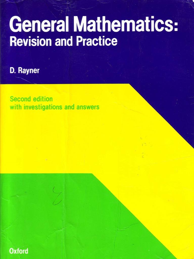 General Mathematics  Revision and Practi   David Rayner