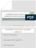 Social Communication Strategies (2)