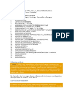 Capitulo IV Afasias Tipologia Clinico Topografica