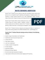 Gis Remote Sensing Services