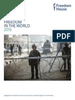 Raportul Freedom House 2015