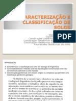 13. AULA Caracterização e Classificação de Solos
