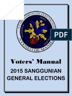 Voters Manual 2015 General Elections
