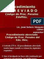 PROCEDIMIENTO ABREVIADO EDOMEX