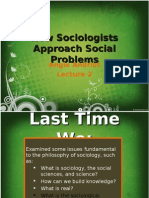 Intro to Social Problems