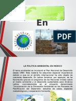 Politica Ambiental en Mexico