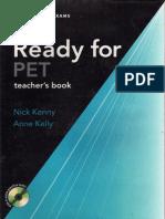 Ready for Pet Teacher's book.PDF