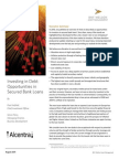 Investing in Debt Opportunities in Secured Bank Loans (1)