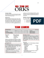 Kill Team List - Orks v3.0