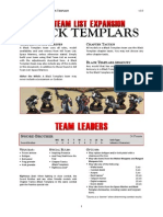 Kill Team List Expansion - Black Templars v3.0
