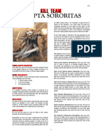 Kill Team List - Adepta Sororitas v2.0