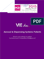 Overview of Aerosol & Dispensing Systems Patents Published in 2014