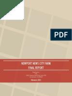 NN City Farm Executive Summary