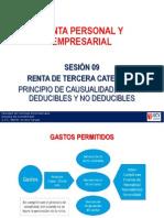 PPT_Sesion_09 Deducible y No Gastos Casualidad