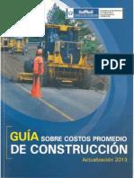 Guia Costos Promedio Guatemala