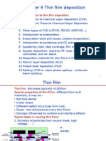 Chapter 9 Thin Film Deposition