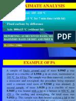 Proximate Analysis