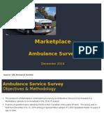 Ambulance Survey Findings