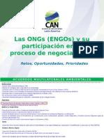 ONGs en El Proceso de Negociaciones - Lina Dabbagh CAN 29Oct14