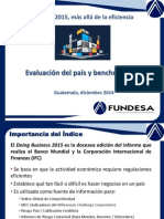 Doing Business 2015 Presentacion FUNDESA