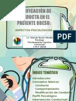 Modificación de Conducta en El Paciente  Obeso