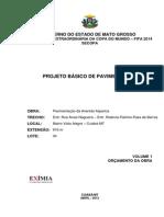 2. Volume 1 Orçamento Cp 05.2012